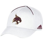 adidas Men's Texas State University Coach Structured Flex Cap - view number 1