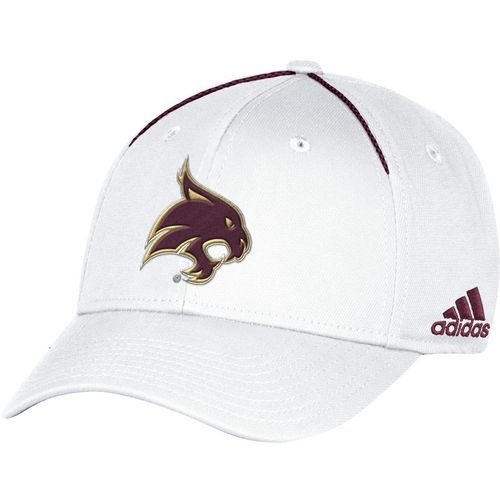 adidas Men's Texas State University Coach Structured Flex Cap