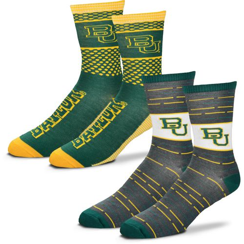 For Bare Feet Men's Baylor University Father's Day Socks