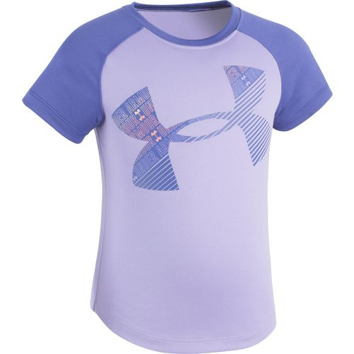 Under Armour Girls' Wordmark Logo Raglan T-shirt - view number 1