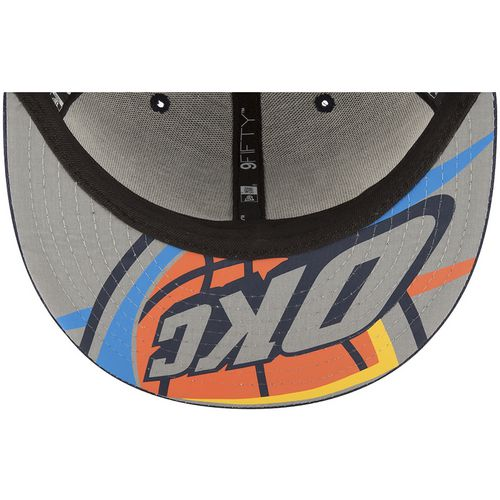 New Era Men's Oklahoma City Thunder 9FIFTY On Court Snapback Cap - view number 3