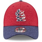 New Era Men's St. Louis Cardinals Stars and Stripes '17 39THIRTY Cap - view number 6