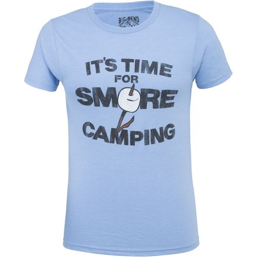 Big Bend Outfitters Men's It's Time for S'more Camping T-shirt - view number 1