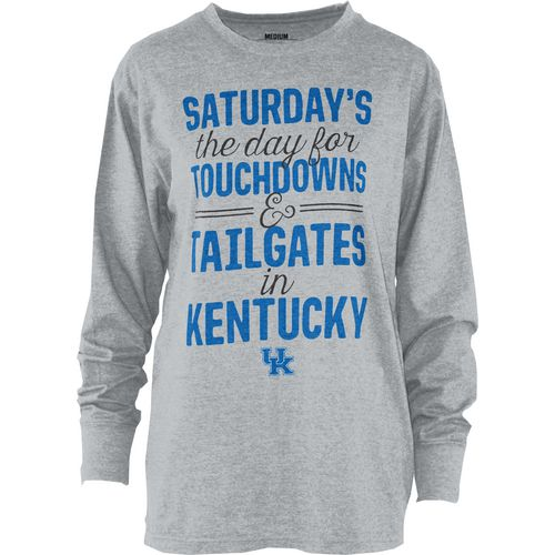 Three Squared Juniors' University of Kentucky Touchdowns and Tailgates T-shirt