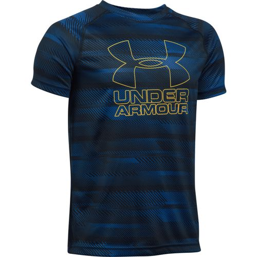 Display product reviews for Under Armour Boys' Printed Hybrid T-shirt