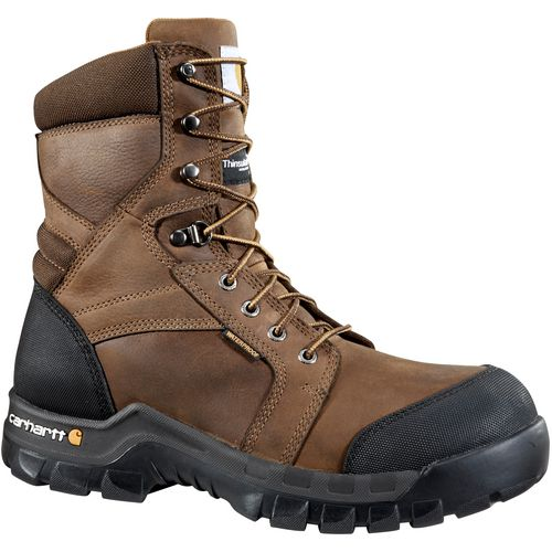 Display product reviews for Carhartt Men's 8 in Rugged Flex Insulated Work Boots