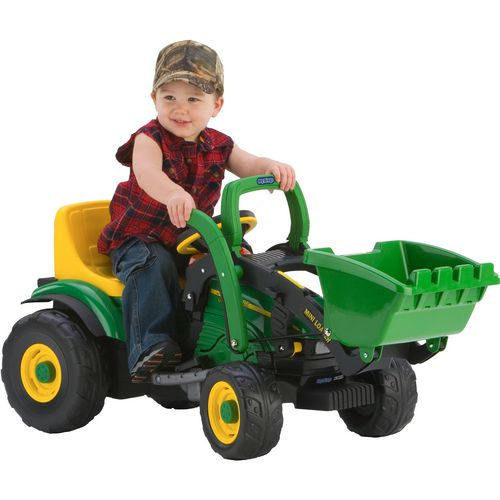 Peg Perego John Deere Mini Power Loader 6 v Ride-On Tractor