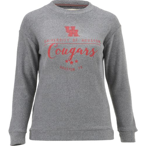 Three Squared Juniors' University of Houston Finley Comfy Terry Pullover