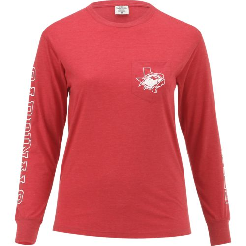 Three Squared Juniors' Lamar University Mystic Long Sleeve T-shirt