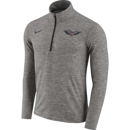 Nike Men's New Orleans Pelicans Element Dry 1/2 Zip Pullover