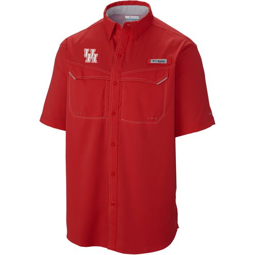 Columbia Sportswear Men's University of Houston Low Drag Offshore Short Sleeve Shirt