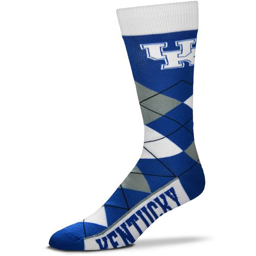 For Bare Feet Unisex University of Kentucky Team Pride Flag Top Dress Socks