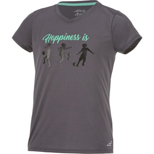 BCG Girls' Happiness Is Short Sleeve T-shirt - view number 3