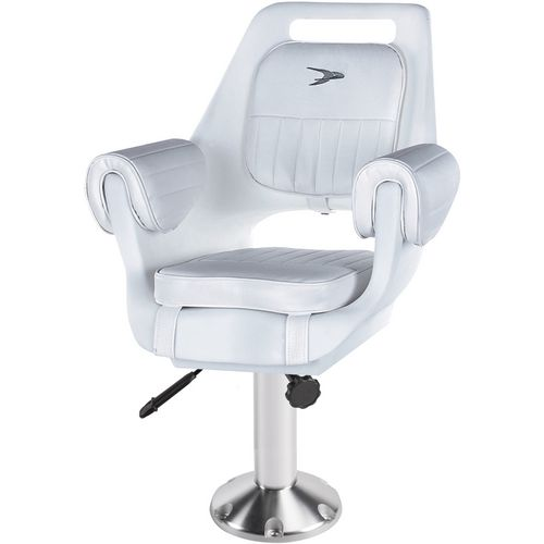 Wise Company Deluxe Pilot Chair and 15 in Pedestal Combo - view number 1