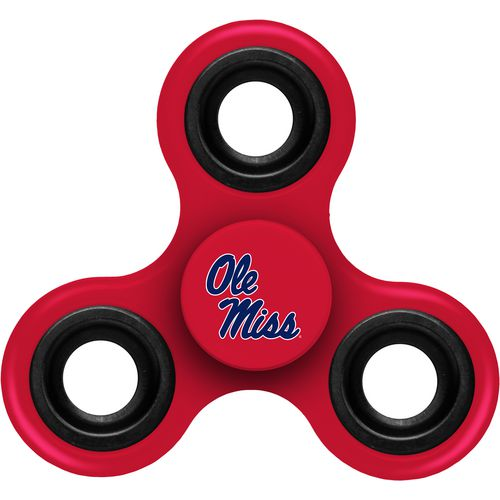 Forever Collectibles University of Mississippi 3-Way Diztracto Spinnerz Toy