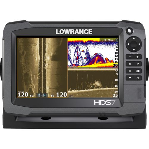 Lowrance HDS-7 Gen3 M/H TotalScan Fishfinder/GPS Combo