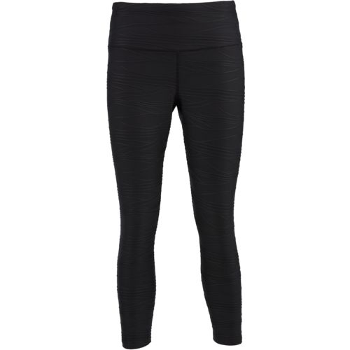 BCG Women's Athletic Textured Capri Pants