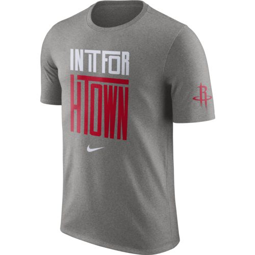 Nike Men's Houston Rockets In It For Verbiage Dri-FIT T-shirt