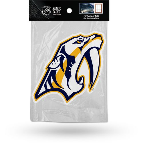 Rico Nashville Predators Die-Cut Static Cling
