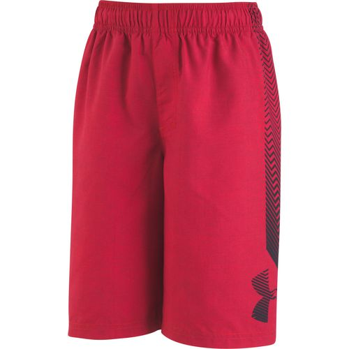 Under Armour Boys' Big Logo Volley Swim Shorts