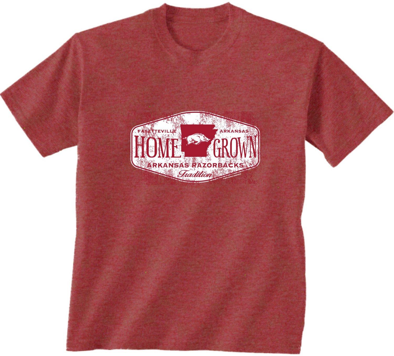 Nice New World Graphics Men's University of Arkansas Home Grown T-shirt supplier