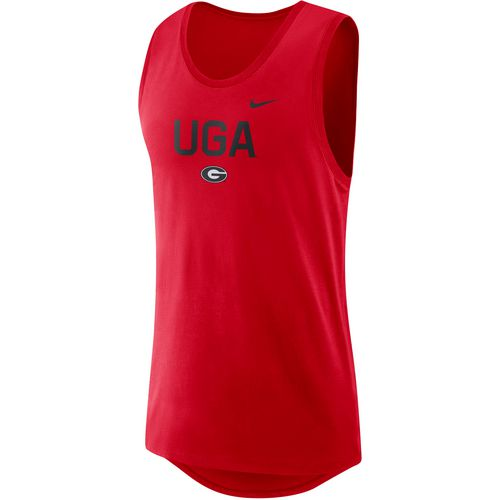 Nike Men's University of Georgia Dry Modern Tank Top