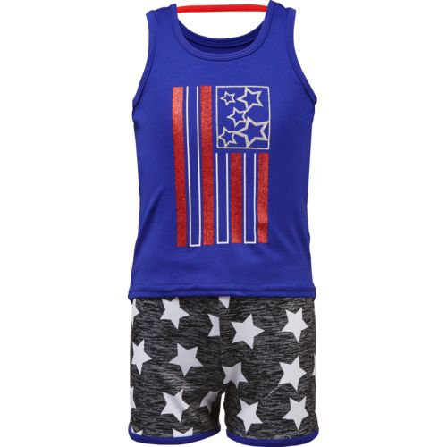 Cheetah Girls' Americana Tank Top and Shorts Set