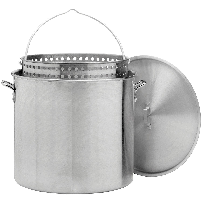 Outdoor Gourmet 100 qt. Aluminum Pot with Strainer