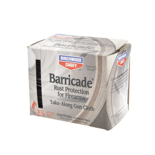 Birchwood Casey® Barricade® Take-Along Gun Cloths 25-Pack