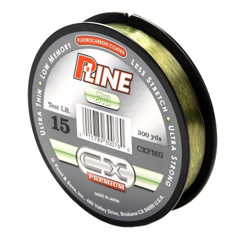 Image for P-Line® CX Premium 15 lb. - 300 yards Fluorocarbon Fishing Line from Academy