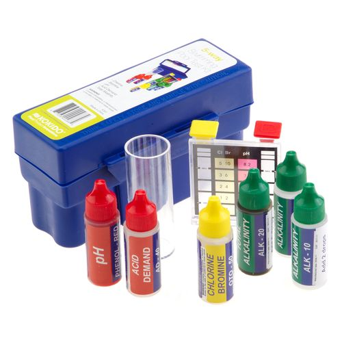 Kokido 5-Way Reagent Swimming Pool Test Kit