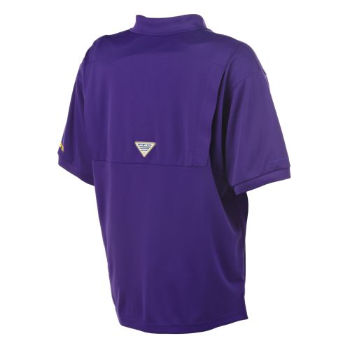 Columbia Sportswear Men's Collegiate Perfect Cast™ Louisiana State University Polo Shirt - view number 2
