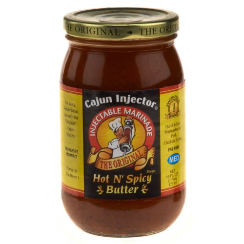 Cajun Injector 16 oz. Hot N' Spicy Butter Marinade Refill