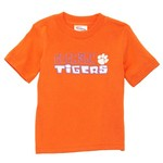 Viatran Toddlers' Clemson University Short Sleeve T-shirt
