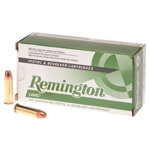 Remington UMC .38 Special Magnum 130-Grain Centerfire Handgun Ammunition
