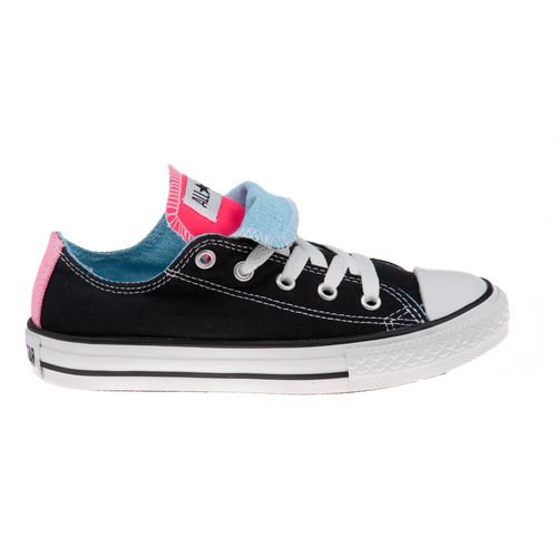 Converse Girls' Chuck Taylor All-Star Double Tongue Athletic Lifestyle Shoes