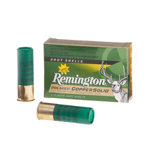Remington Premier® Copper Solid™ 12 Gauge Sabot Slug Shotshells