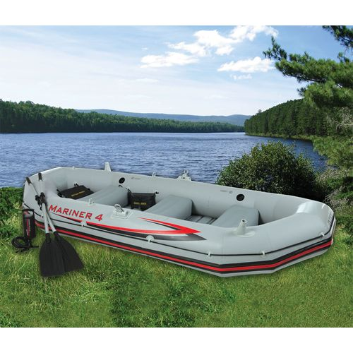 "Display product reviews for INTEX® Mariner 10'9"" Flat-Bottom Boat"