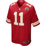 Nike Men's Kansas City Chiefs Alex Smith #11 Game Jersey - view number 1