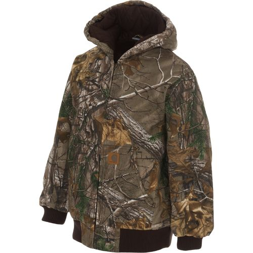 Display product reviews for Carhartt Boys' Camo Active Jacket