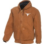 Carhartt Men's University of Texas Austin Quilted Flannel Active Jac