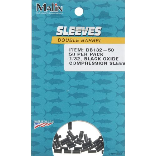 Malin Double-Barrel 1/32 in Compression Sleeves 50-Pack - view number 1