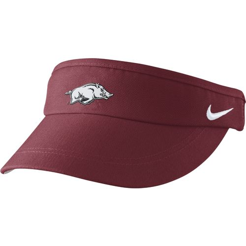 Nike™ Men's University of Arkansas Sideline Dri-FIT Visor