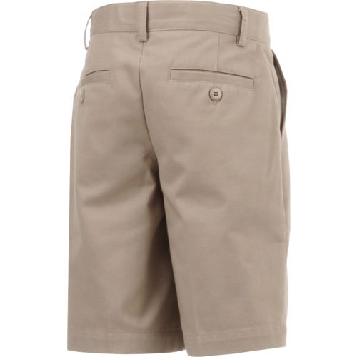 Austin Trading Co. Boys' Uniform Flat Front Twill Short - view number 2