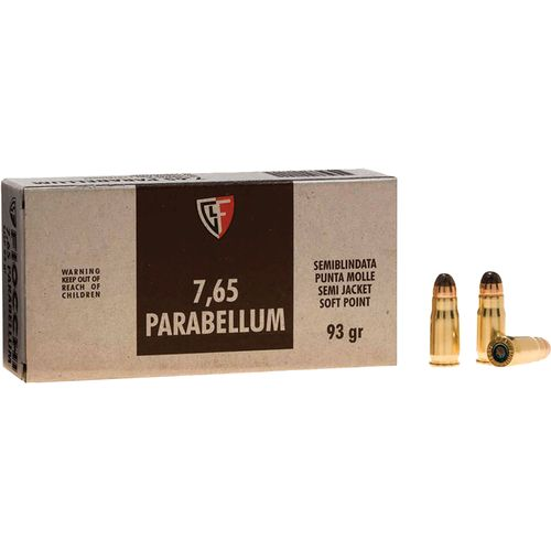Display product reviews for Fiocchi .30 Luger 93-Grain Jacketed Soft-Point Centerfire Pistol Ammunition