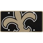 Stockdale New Orleans Saints Inlaid Acrylic License Plate