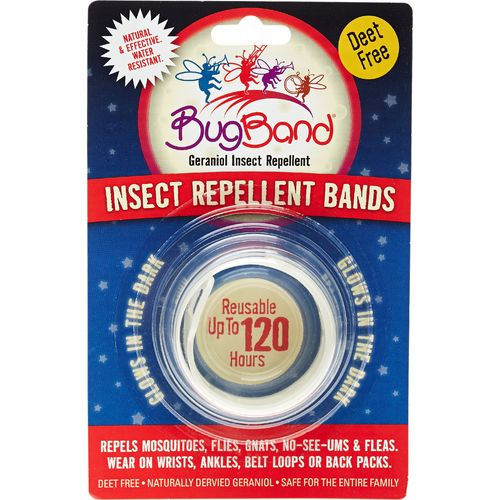 BugBand Glow-in-the-Dark Insect Repelling Wristband