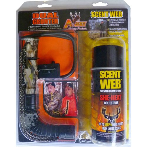 A-Way Hunting Products Scent Web She-Heat Deer Scent