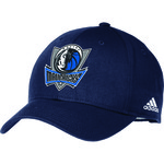 adidas Adults' Dallas Mavericks Structured Adjustable Cap