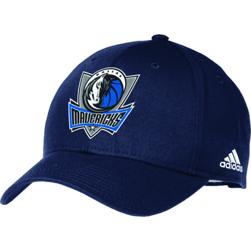 adidas™ Adults' Dallas Mavericks Structured Adjustable Cap